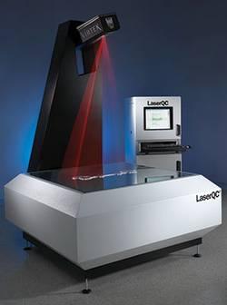 VIRTEK LaserQC Messystem Laser QC Dichtungen prüfen