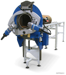 Rohrenden Bearbeitungsmaschine PC 320 Rohrsäge Rohranfasmaschine