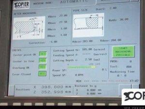masub Copier Beaver Cnc Bildschirm