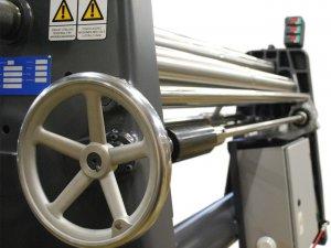 masub Nosstec Rundbiegemaschine 8266 Diagonalverstellung Biegewalze