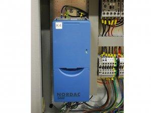 masub Nosstec Rundbiegemaschine 8266 Frequenzumrichter