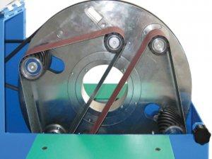 masub Aceti Rohrumschleifmaschine Art150 Schleifbanddetail