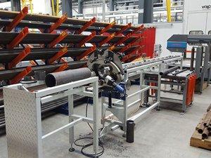 masub Gerima Rohrendenbearbeitungsmaschine Mmp170 Produktion