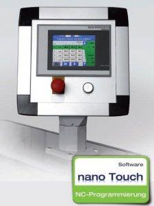 masub Schroeder Schwenkbiegemaschine Nano Touch Steuerung