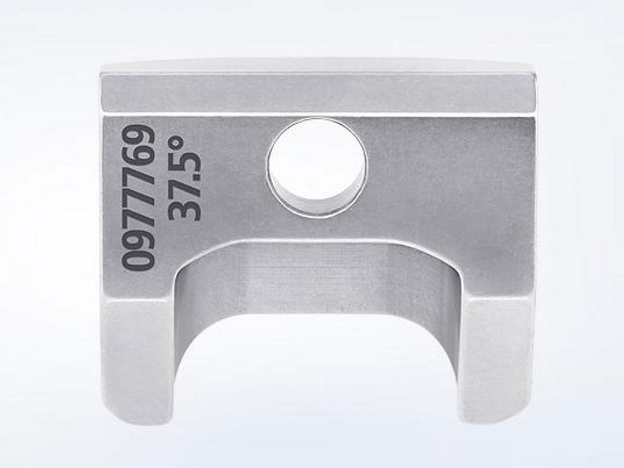 Schweisskantenformer TKF 700 Gegenhalter 37,5°