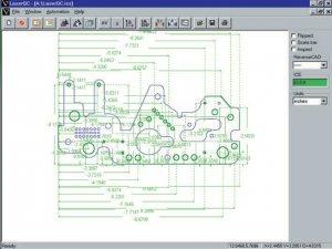 masub Virtek Laserqc Messystem Beispiel Bemassung