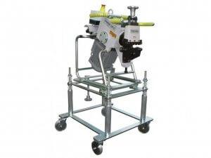 masub Cevisa Fasenschermaschine Chp12 Rollenscherenmaschine Fahrwagen