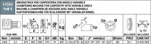 masub Aceti Art141 Maschinendaten