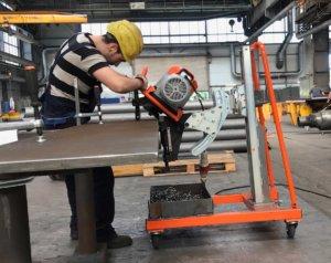 Masub Rollenscherenmaschine Uz29 Speeder Esm2960 Aktion5