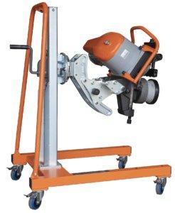 Masub Rollenscherenmaschine Uz29 Speeder Esm2960 Hinteransicht